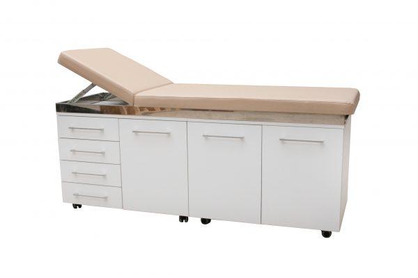 pat consultatie cu mobilier integrat pivotant